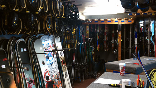 Snowboard Rentals in Big Bear Lake